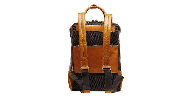 Tokio large backpack in soft leather