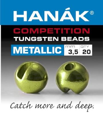 HANAK METALLIC SLOTTED TUNGSTEN BEADS