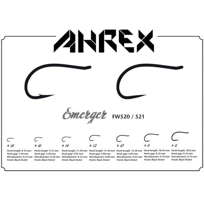 AHREX FW521 EMERGER BARBLESS