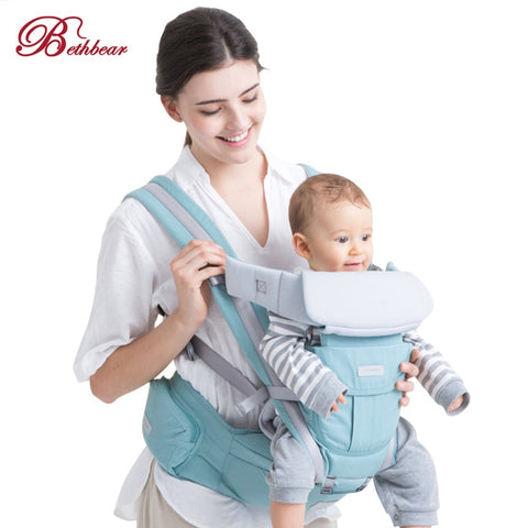 Bethbear 3 In 1 Hipseat Ergonomic Baby Carrier 0 - 36 Months Buckle  Comfortable Mesh Wrap 4391cf9f606