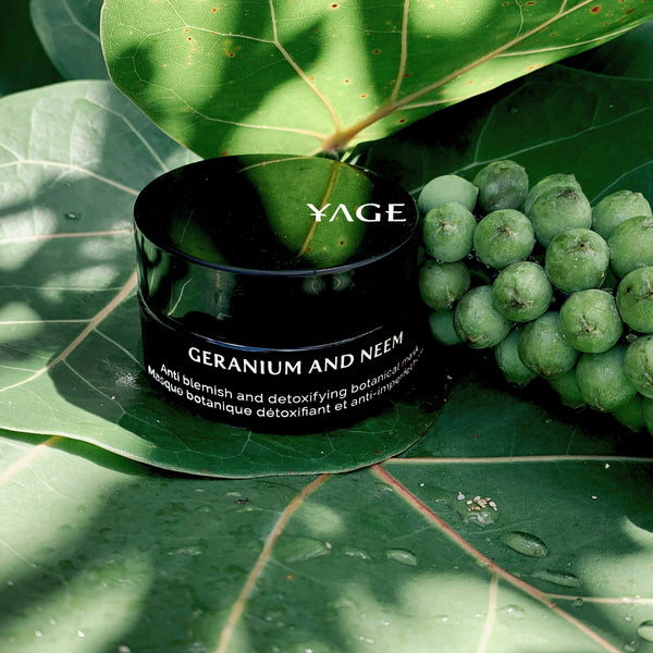 Geranium and Neem - Anti blemish and detoxifying botanical mask