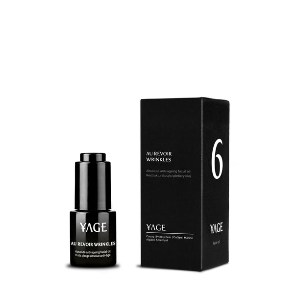 AU REVOIR WRINKLES  -  Absolute anti-ageing facial oil serum