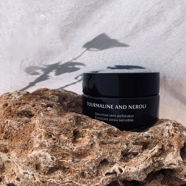 Tourmaline and neroli - Sensitive skin exfoliator