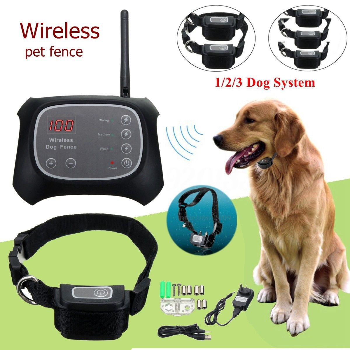 Trainer Wireless Electric Collar (Waterproof)