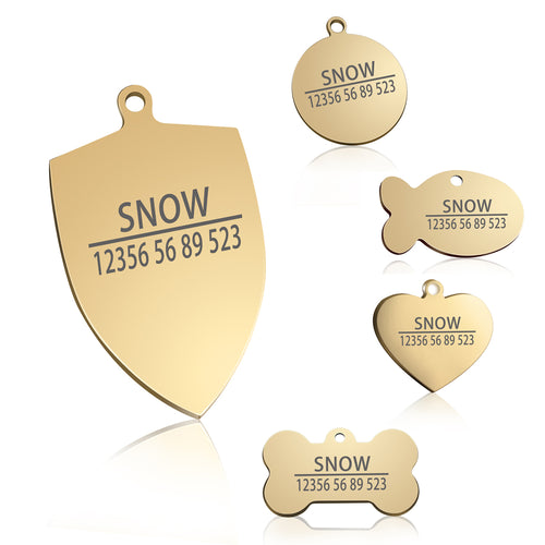 Free Engraving ID Tag (For Collars)