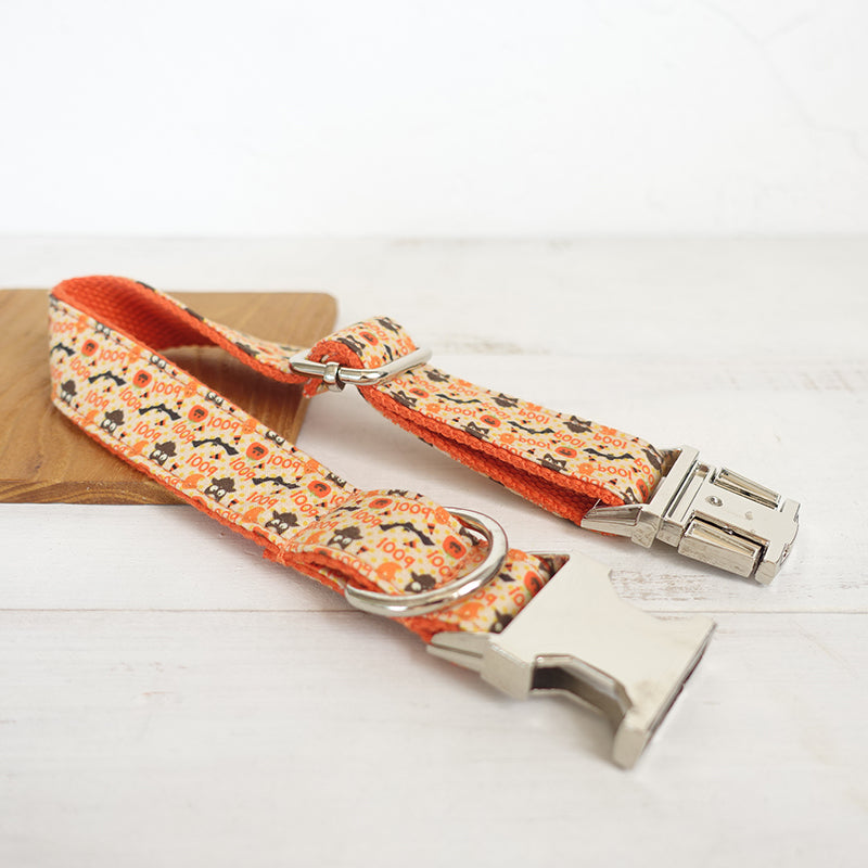 Halloween Personnalized Collar