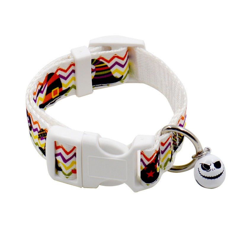 Nylon Halloween Collarr (Bell Harness)
