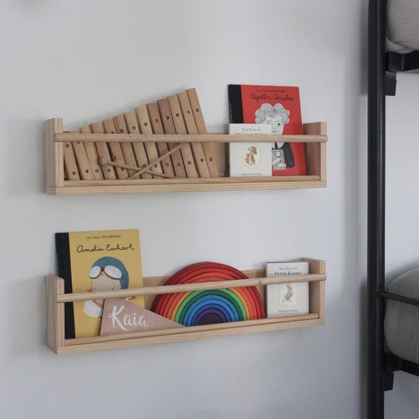 Book Shelf. Natural