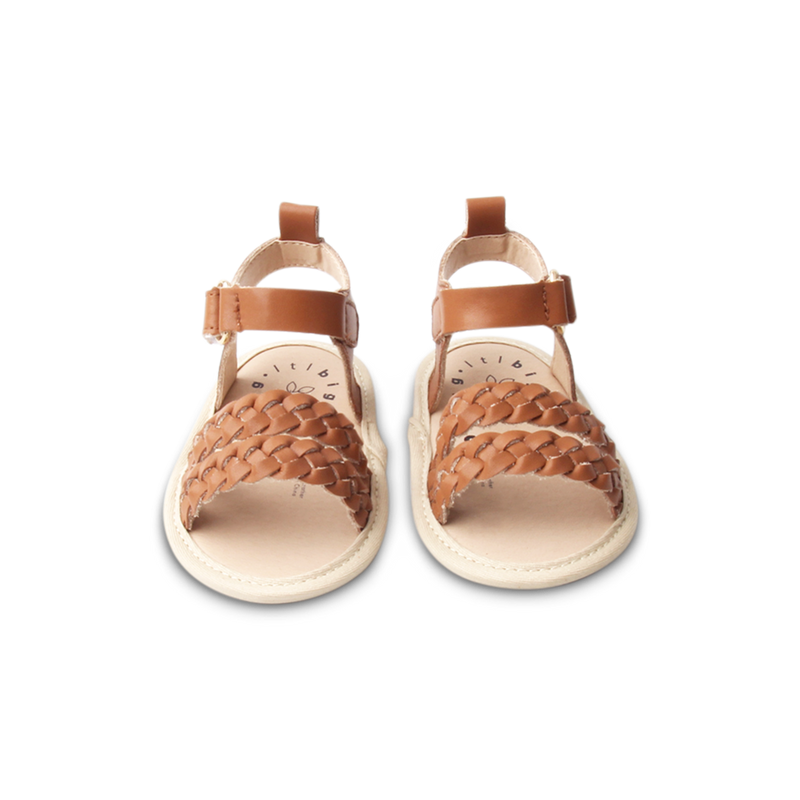 Alba Sandal. Brown Bear - Little Big
