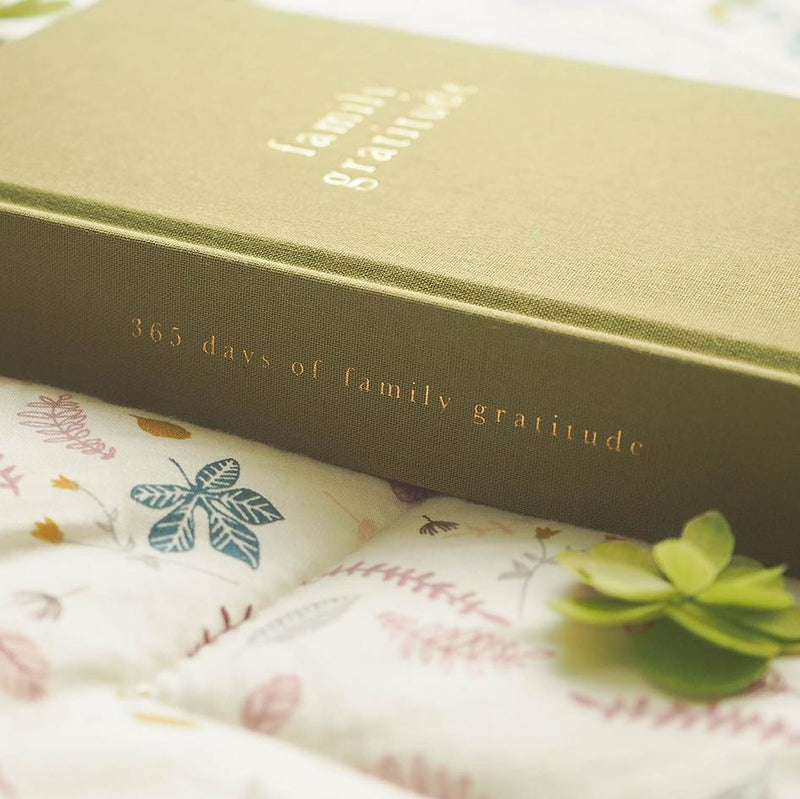 Family Gratitude Journal. Kahki