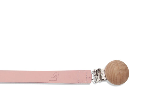 Paci Clip in Blush - Little Big