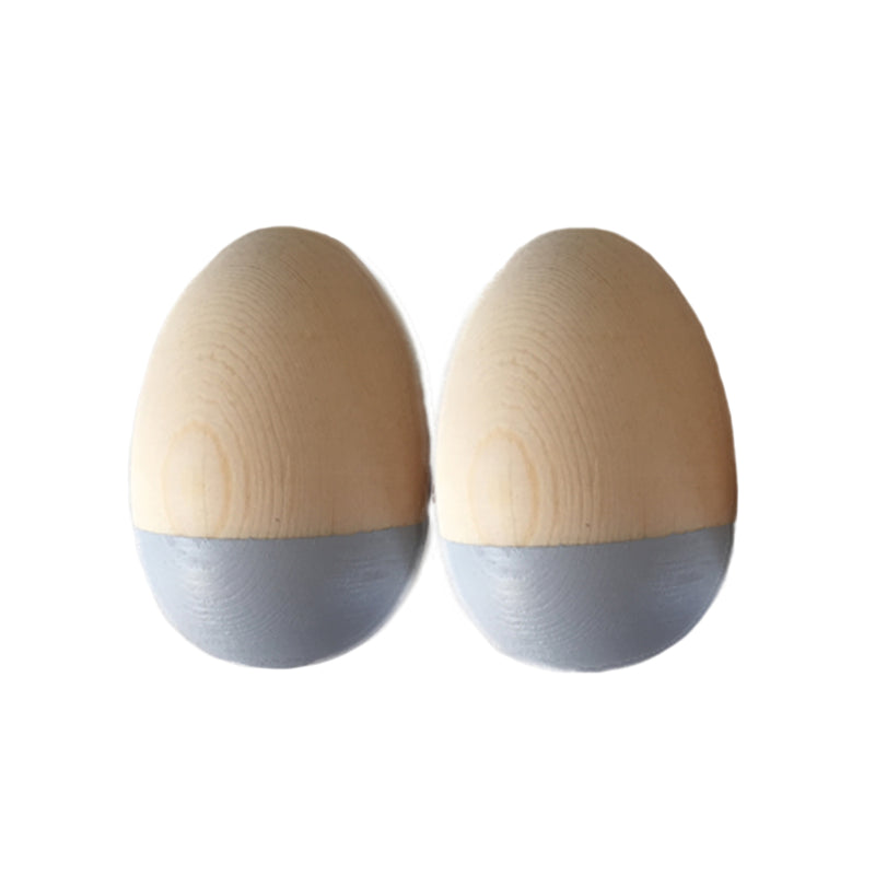 Egg Shakers. Blue