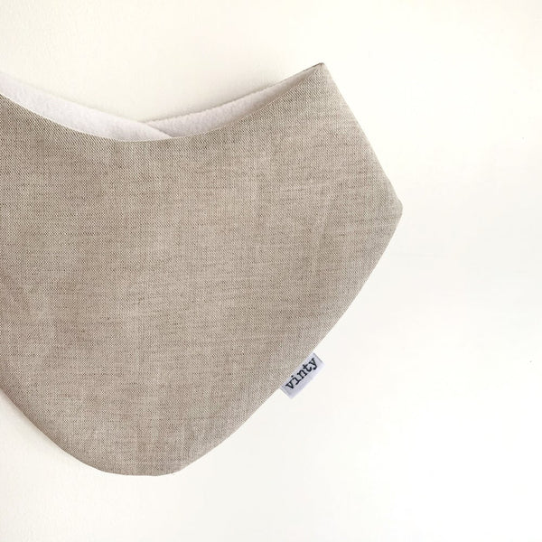 Dribble Bib. Oatmeal