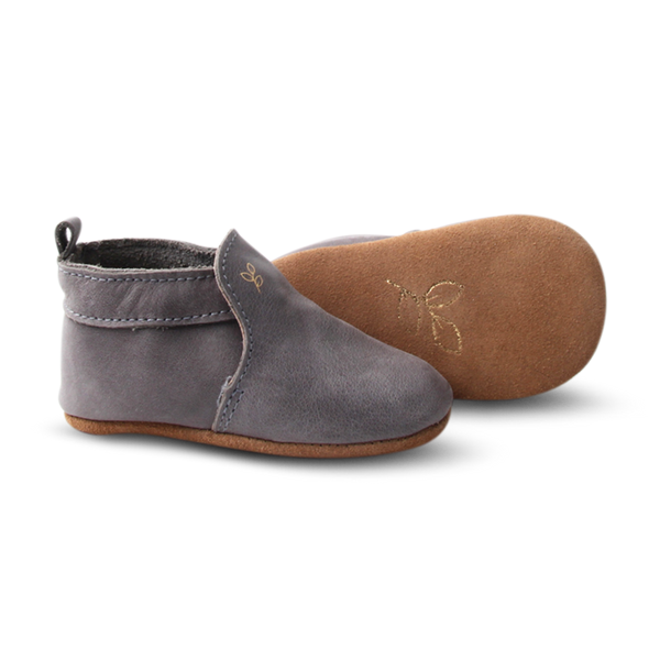 Teddy Slip-On. Ash - Little Big