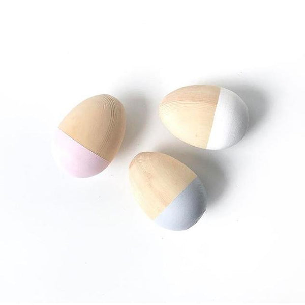 Egg Shakers. Blush