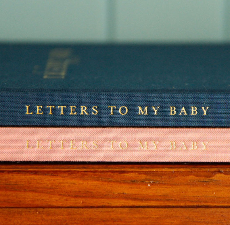 Raising You, Letters to my Baby. Navy