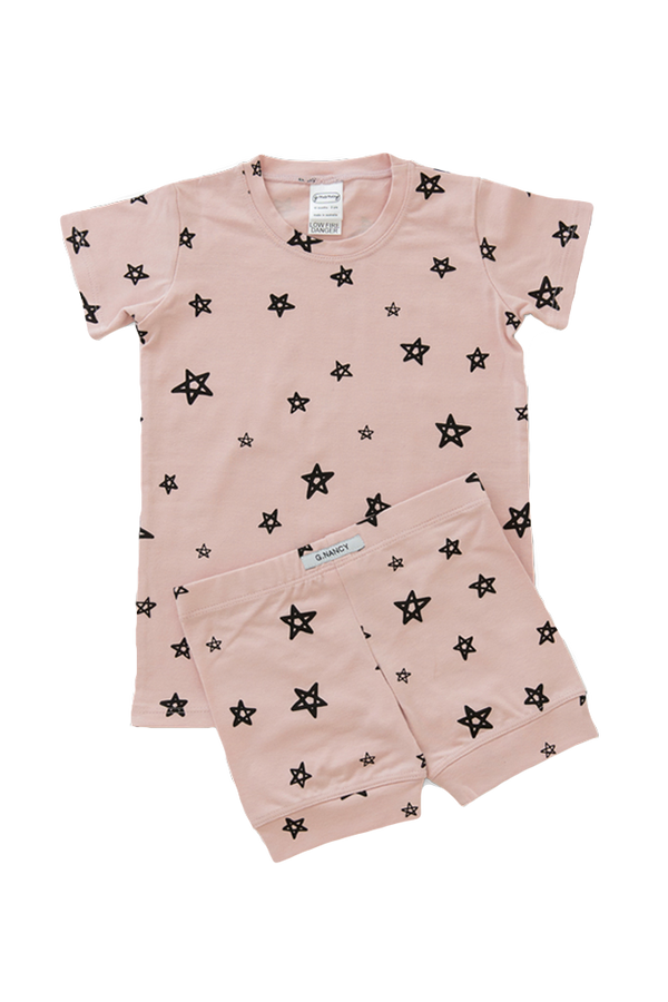 Star Shortie PJ. Rose