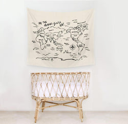 Oh the places you'll go. Wall Tapestry