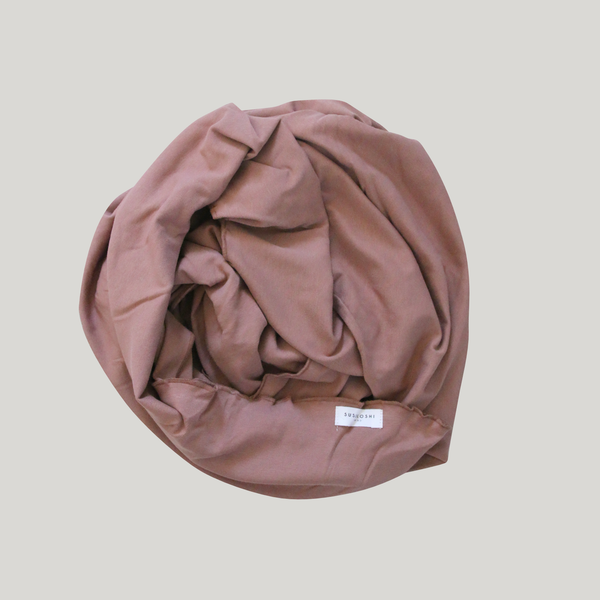 Swaddle Blanket. Terracotta