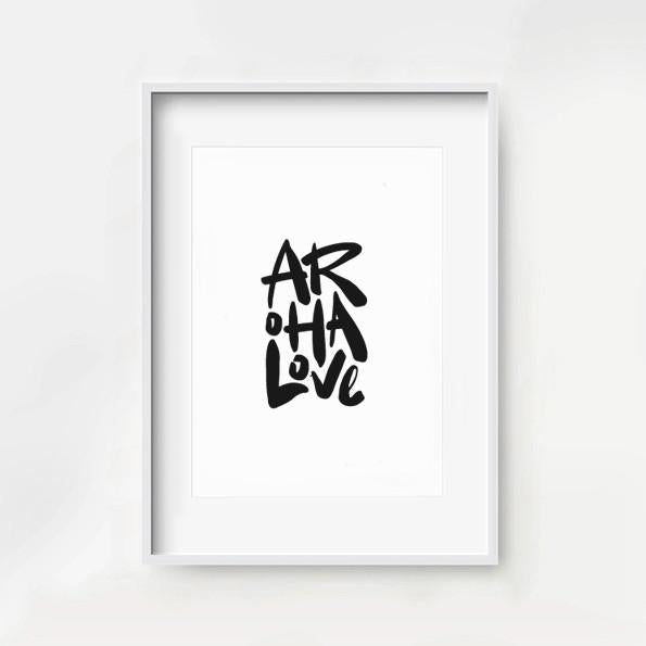Aroha Love. Monochrome