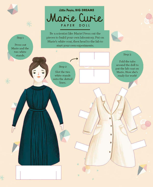 Paper Dolls. Marie Curie