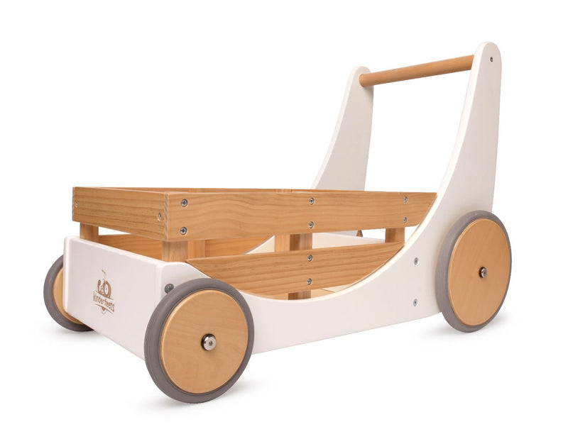 Wooden Walker. White