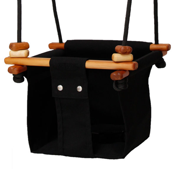 Baby + Toddler Swing. Black