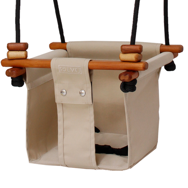 Baby + Toddler Swing. Linen