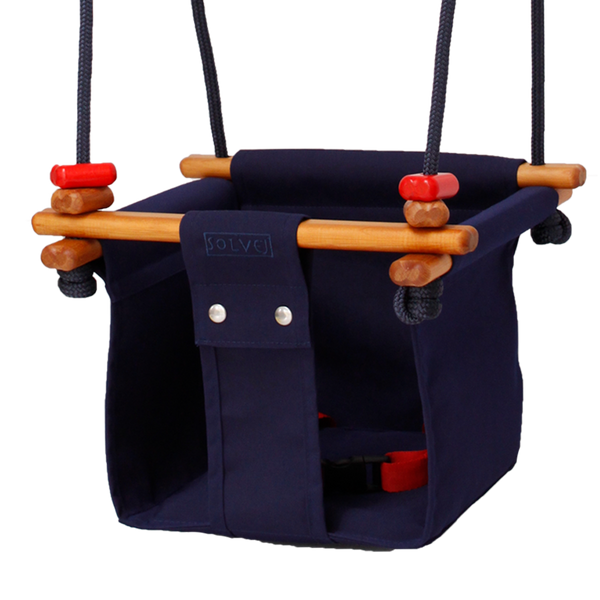 Baby + Toddler Swing. Midnight Blue