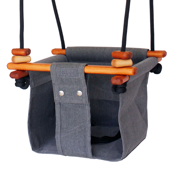 Baby + Toddler Swing. Smokey Grey