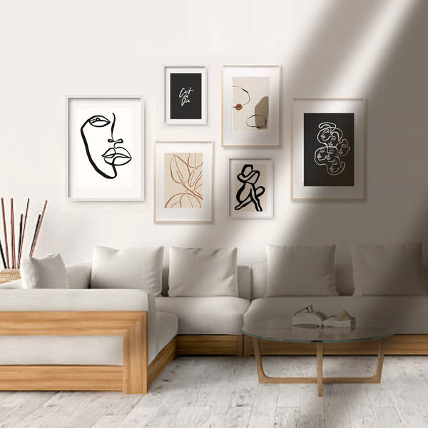 Curated Gallery Wall. Style 3