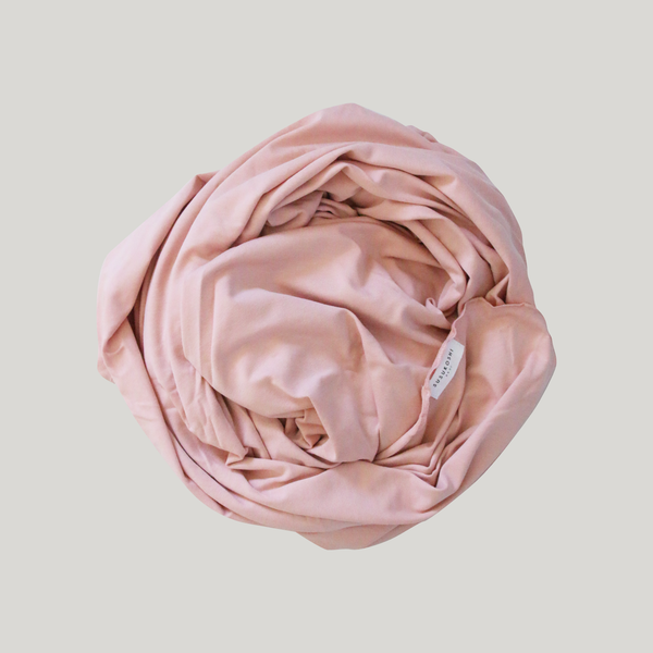 Swaddle Blanket. Rose