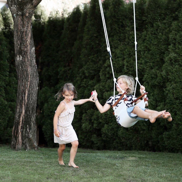 Child Swing. White