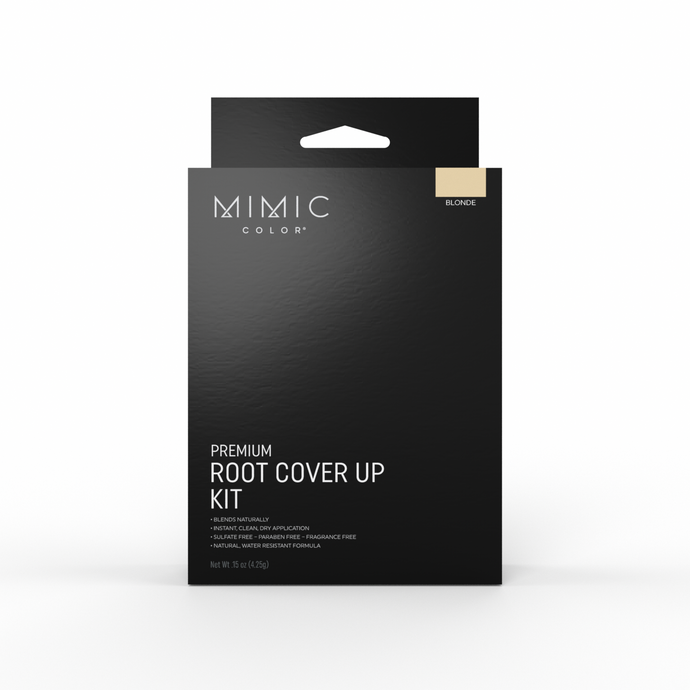 Mimic Color Root Cover Up Kit - Blonde - MimicColor