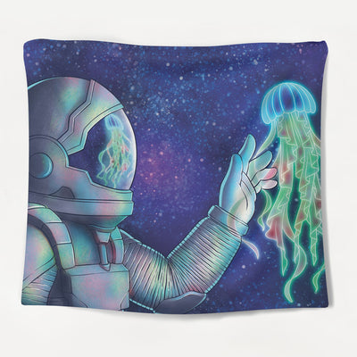 Astronaut Visions Tapestry
