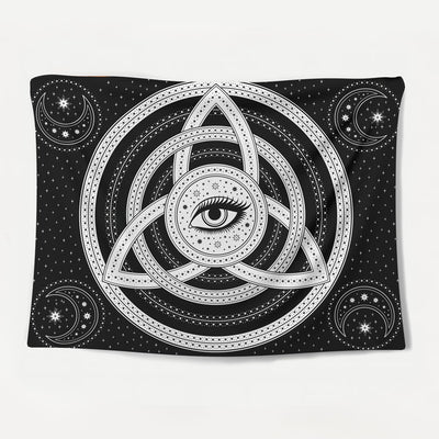 Cosmic Eye Tapestry