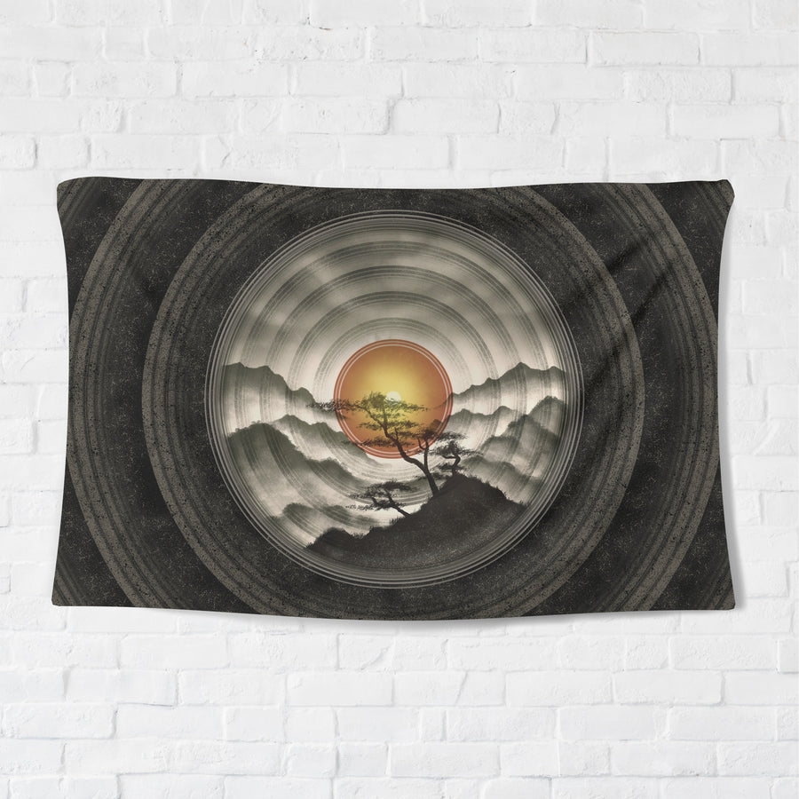 Eye of the Mountain Tapestry