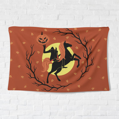 Hallows' Eve Rider Tapestry