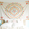 Floral Dream Mandala Tapestry