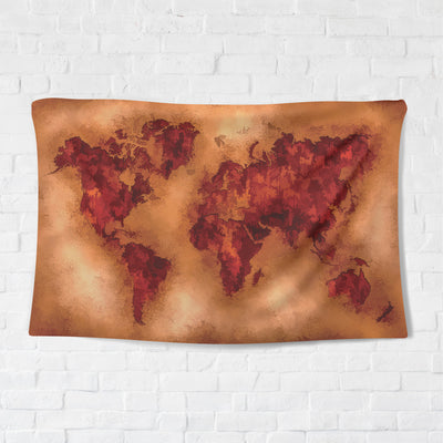 Sepia Earth Tapestry