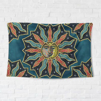 Sun Mosaic Tapestry