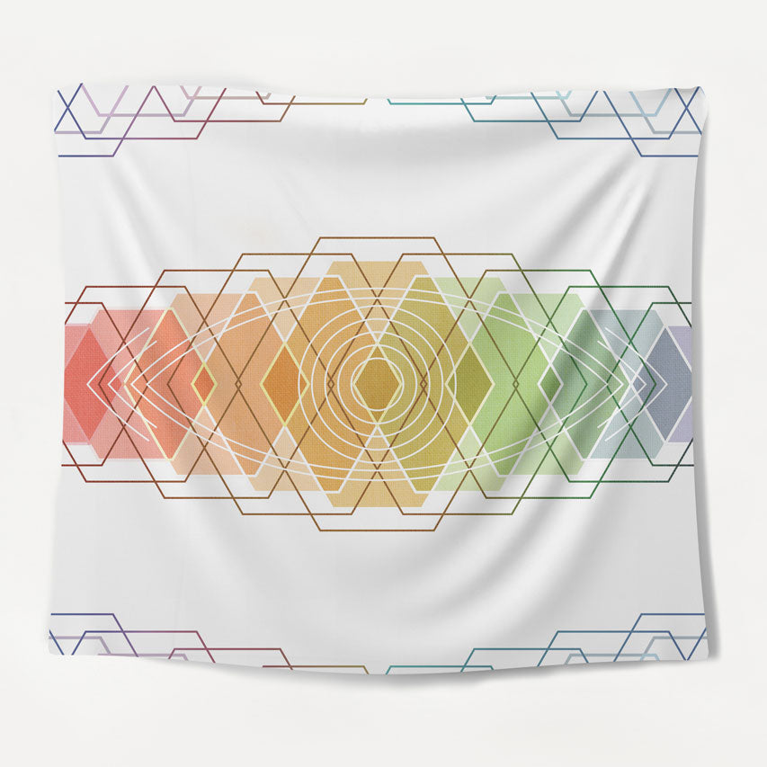 Abstract Chakra Tapestry