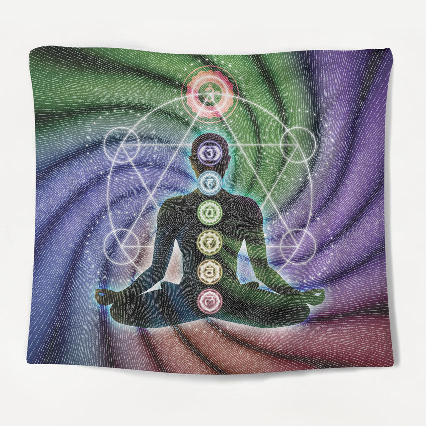 Ascension Chakra Tapestry