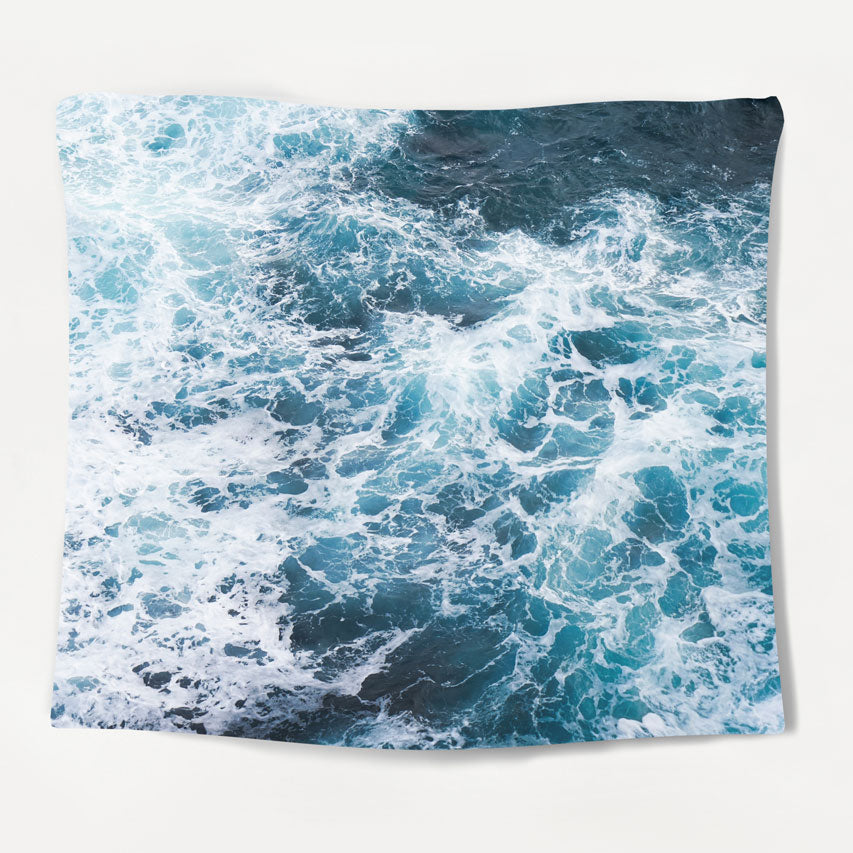 California Waves Tapestry