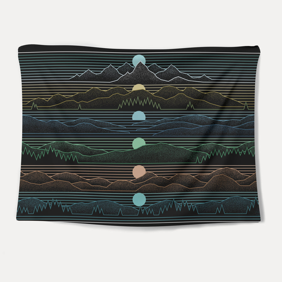 Colorado Sundown Tapestry