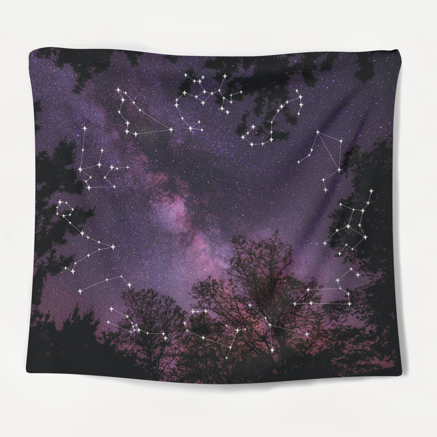 Constellation Forest Tapestry
