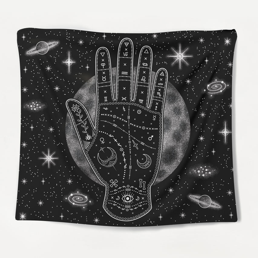 Cosmic Hand Tapestry