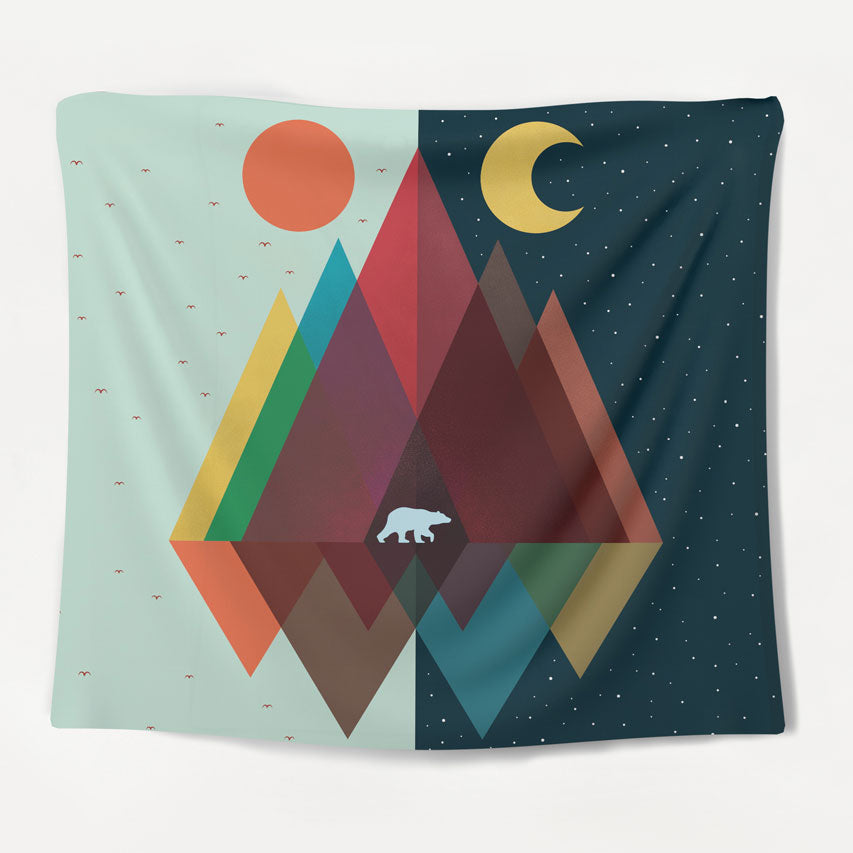 Day & Night Tapestry