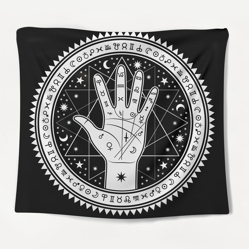 Divine Palmistry Tapestry
