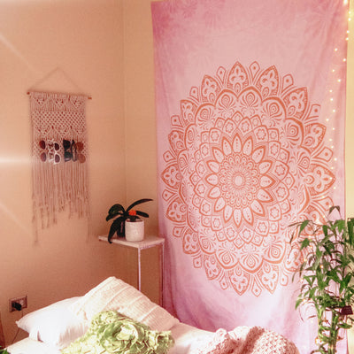 Love Mandala Tapestry